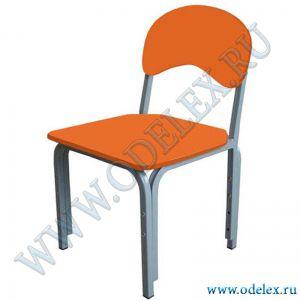 ММ-31-5 Стул детский регулируемый (г.р.1-3) оранжевый