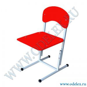 ММ-32-2 Стул детский регулируемый (г.р.1-3) красный