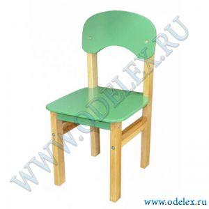 ММ-26-4 Стул детский (массив-фанера) зеленый