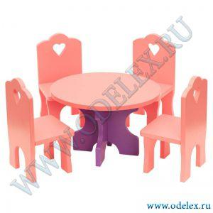 И-3 Столик со  стульчиками