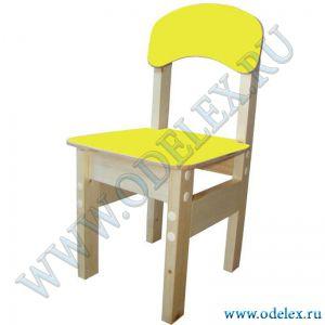 ММ-9-3  Стул детский (массив-фанера) желтый