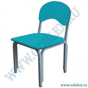 ММ-31-1 Стул детский регулируемый (г.р.1-3) синий