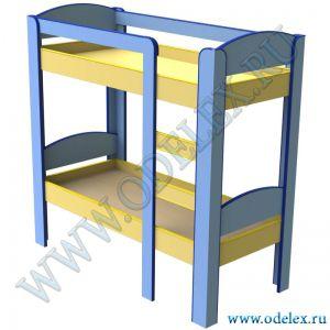 М-128 Кровать двухъярусная