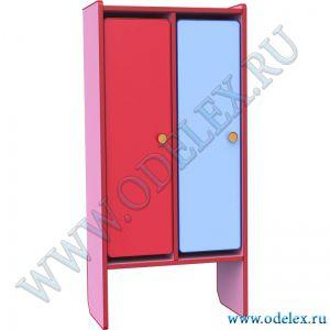 М-199-2 Шкаф для одежды 2-х секции