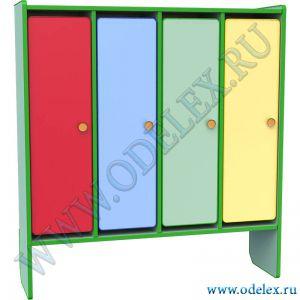 М-199-4 Шкаф для одежды 4-х секции