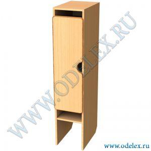 М-89-1 Шкаф для одежды 1 секция