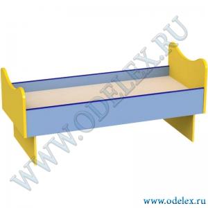 М-239 Кровать детская  с фигурной спинкой