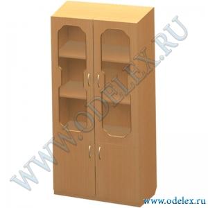 К-10-1 Шкаф 2-х ств. со стеклом