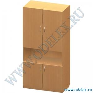 К-11-1 Шкаф 2-х ств. с нишей