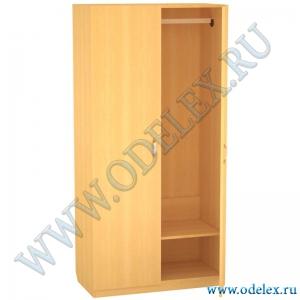 К-6-6 Шкаф 2-х ств. платяной (с замком)