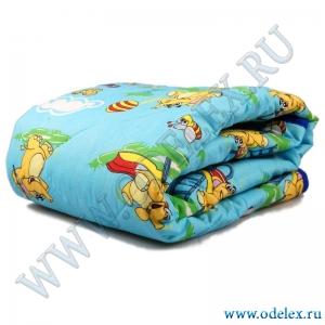 Одеяло детское х/ф (утепленное)