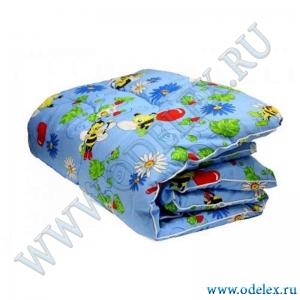 Одеяло детское шерсть (зима)