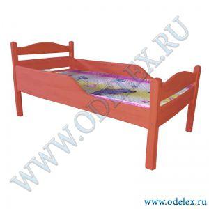 М-342 Кровать волнообразная спинка (массив)