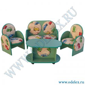 М-125 Набор полумягкой мебели