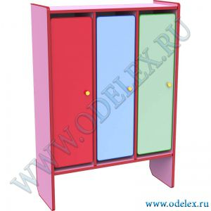 М-199-3 Шкаф для одежды 3-х секции