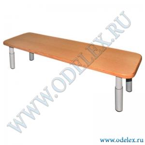 М-238 Скамейка рег. (металлокаркас)  L-120 см