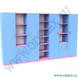 М-33 Шкаф для кабинета (7 секций)