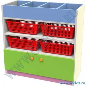М-366 Стеллаж для игрушек